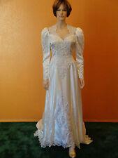 Gorgeous White Princess Ginza Collection designer wedding gown size 12