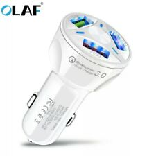 3 Port USB Car Charger Quick Charge 3.0