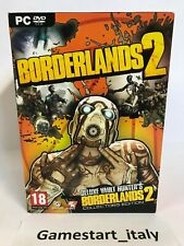 BORDERLANDS 2 COLLECTOR'S EDITION - PC COMPUTER - NUOVO - DELUXE VAULT HUNTER'S