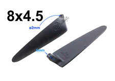 "1pair 8x4.5"" Nylon Folding Propeller Blade for RC Powered Glider Plane001-00408A"