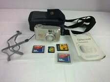 Pentax Optio 330 GS Digital Camera + Case / Manual / Memory Cards 64 32 128 16MB