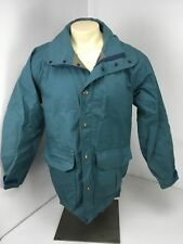 "Vintage Columbia ""Orange Label"" Blue Gore Tex Parka Coat Jacket Men's Sz S USA"