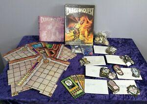 Vintage 1987 Dungeonquest Games Workshop Talisman Board Game
