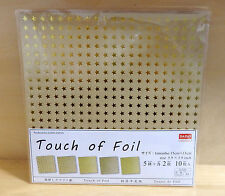Japanese Origami  Folding Craft Paper Chiyogami Touch of Foil
