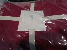 Pottery Barn Kids Max Stitched Quilt full queen quilt red New w tag