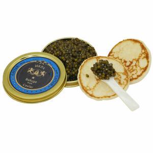 Beluga Caviar Premier 50g vom Amur Stör, Störkaviar (Beluga Kaviar)