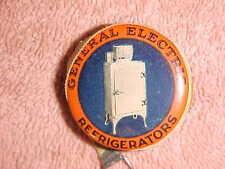 1930-50 era G E REFRIGERATOR AD - CELLULOID TAPE MEASURE - GENERAL ELECTRIC