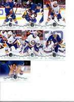 2018-19 Upper Deck Series 2 Hockey New York Islanders Team Set of 7 Cards