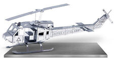 3-D Laser Cut Model - Helicopter Amazingly Detailed DIY Model METAL MARVEL-HELI