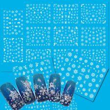 11Pcs/Sheet De Agua Arte De Uñas Pegatinas La Decoración De La Manicura