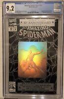 Amazimg Spider-Man #365 CGC 9.2 WP