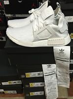 Adidas NMD XR1 PK PRIMEKNIT BB1967 Triple White Limited Edition SHIP NOW