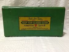 Vintage Magic Lens Tissue Dispenser American Optical Industrial Safety Factory