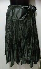 Ladies grey scrunchy Skirt size 14