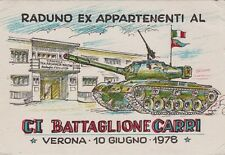 # MILITARI- AUTIERI: CI BATTAGLIONE CARRI- VERONA- RADUNO 1978