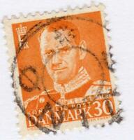 DANEMARK -  - STAMP WITH SPECIAL OBLITERATION    !