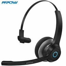 Mpow Bluetooth Wireless Headphone Noise-canceling For Computer Headset Trucker