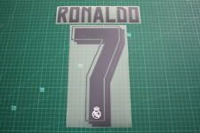 Real Madrid 15/16 #7 RONALDO Homekit Nameset Printing