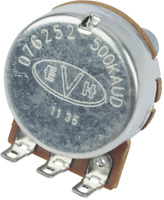 Genuine EVH Custom LOW FRICTION 500K SOLID SHAFT Guitar Pot/Potentiometer