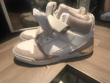 ZARA SIZE Worn 9 MENS White  HIGH TOP TRAINERS Gay Interest Europe 44 Us 10