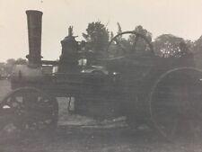 "Vintage BW Real Photograph #AR: Steam Engine ""Excalibur"""