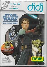 DIDJ LEAPFROG STAR WARS THE CLONE WARS Math Ages 6-9 yrs