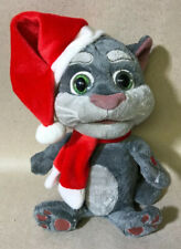 "2014 Talking Tom Talk Back Plush 9""- Has Sound Effects & Repeats - Rare & Works!"