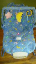 Vintage kids Ii vibrating baby bouncy chair