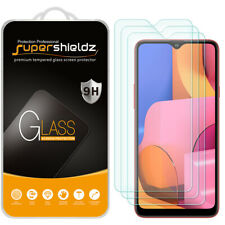 [3-Pack] Supershieldz Tempered Glass Screen Protector for Samsung Galaxy A20s