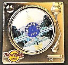 Hard Rock Cafe Washington DC Turntable Pin Series 3D 2018 HRC LE NEW # 99139