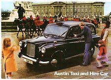 Austin FX4 Taxi & FL2 Hire Car 1978-80 UK Market Sales Brochure
