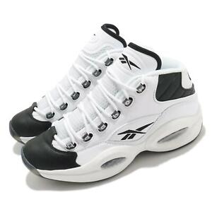Reebok Question Mid Why Not Us White Black Iverson Men Basketball Shoes GX5260