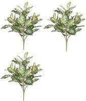"""24"""" SILK DIEFF PLANT BUSH ARTIFICIAL PALM DECOR TREE PATIO HOME 3 ARRANGEMENT"""