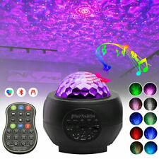 LED Projektor Sternenhimmel Lampe Nachtlicht RGB Bluetooth Musik Fernbedienung