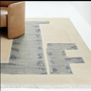 crate and barrel Cityscape 8x10 Rug