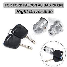 Right Driver Ignition Barrel Door Lock & Keys for FORD FALCON AU BA XR6 XRB AU