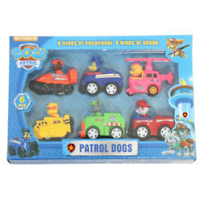 6Pcs/Set Doll Puppy Paw Patrol Dog Movable Joints Figure Patrulla Canina Car Toy