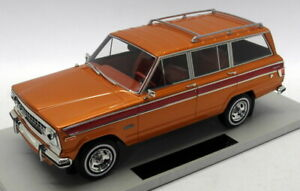 LS Collectibles 1/18 Scale - LS037B Grand Wagoneer Jeep Metallic Brown