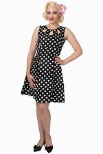Polyester Crew Neck 50's, Rockabilly Dresses for Women