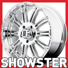 4 x 20x9 KMC XD WHEELS HOSS XD795 CHROME 18P 6x139.7 Ford Ranger Hilux Colorado