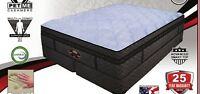 """CAL KING SLEEP 14"""" AIR BED MATTRESS! & 50 NUMBER ADJUSTABLE REMOTE CONTROL ~ NEW"""