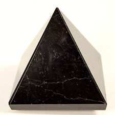 "2.3"" Black Tourmaline Pyramid Natural Schorl Gemstone Crystal Mineral - Africa"