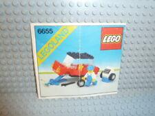 LEGO® Legoland Bauanleitung 6655 Auto & Tire Repair instruction B4041
