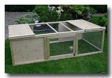 Bauanleitung KLEINTIERKÄFIG FREIGEHEGE für Meerschweinchen/Kaninchen aus Holz