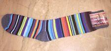 ARTHUR GEORGE Dress Socks Rob Kardashian Funky Varietal Multi Stripe Striped #1