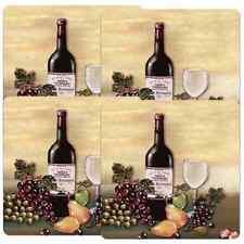 Gas Burner Covers Set Of 4 Barnyard Wine & Vines Stove Top Kitchen Home Decor .