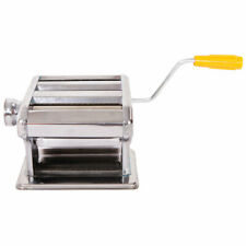 Stainless Steel Kitchen Home Pasta Maker Fresh Noodle Making Machine Us