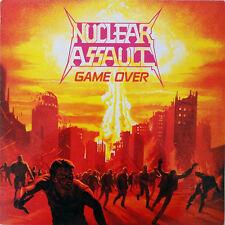 Nuclear Assault - Game Over LP Clear Splatter Vinyl SPEED THRASH METAL CLASSIC