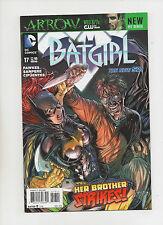 Batgirl #17 - Her Brother Strikes! New 52! - (Grade 9.2) 2013