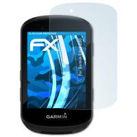 atFoliX 3x Película Protectora para Garmin Edge 530 transparente